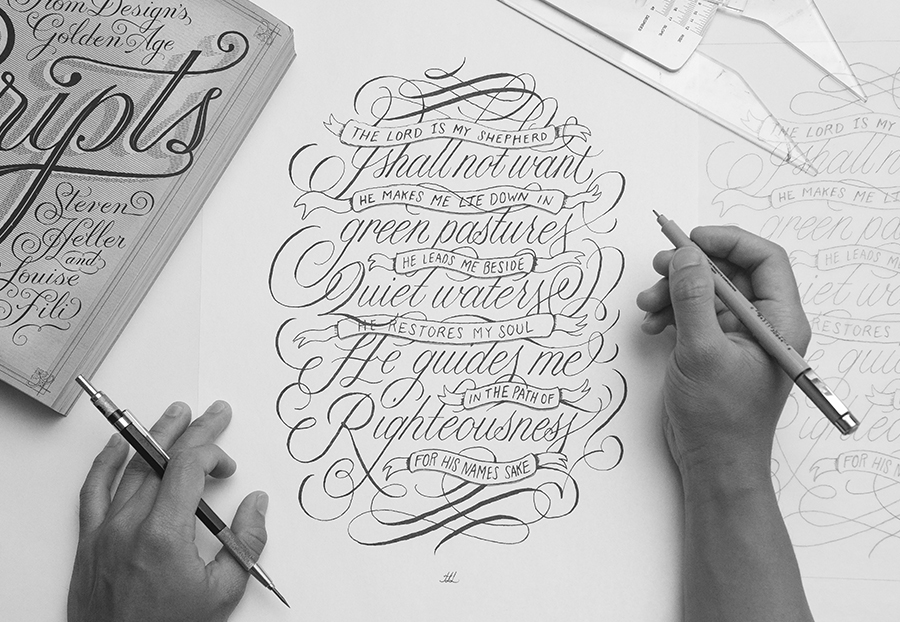 Hand lettering and bible journaling a work of heart for Hand lettering bible journaling