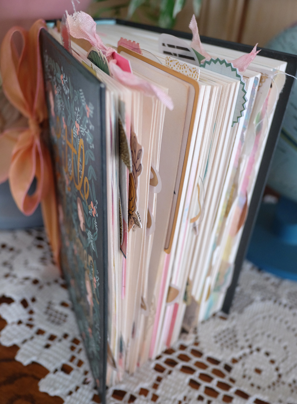 In Bloom Altered Book profile