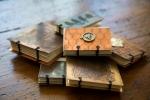 Etched Metal Coptic Stitch MiniJournal