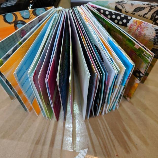 paint play explore mini journal