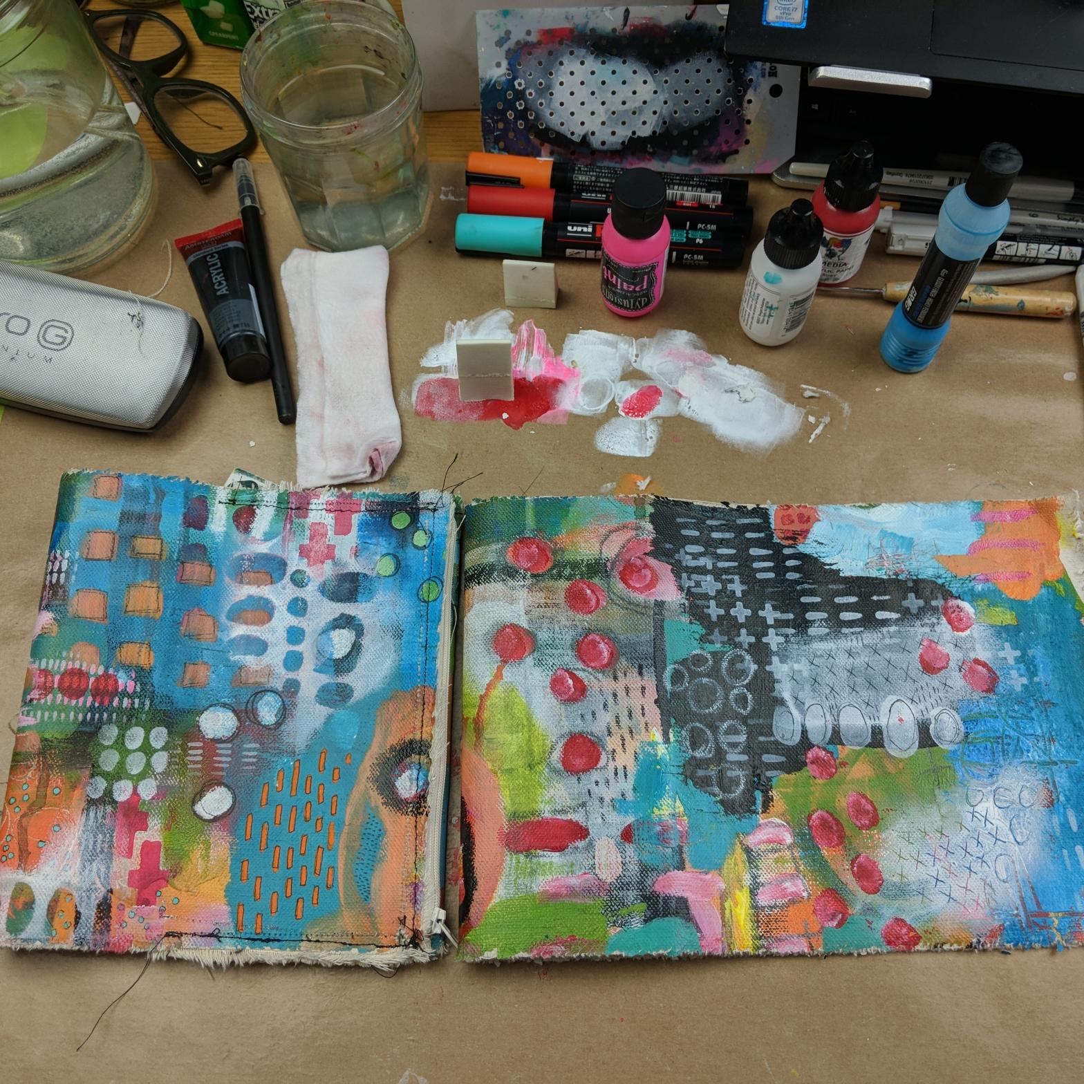 Final Portfolio +piece in progress
